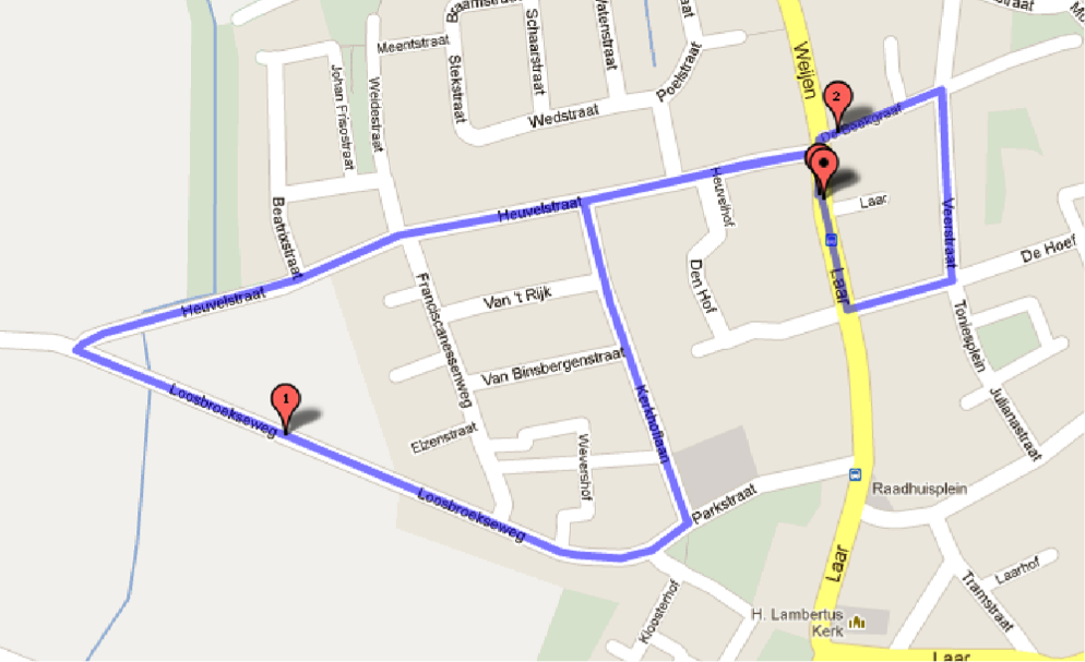 Looproute Pinksterloop (1)