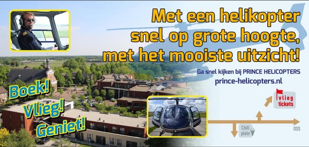 Helikopter-doek Boek-vlieg geniet